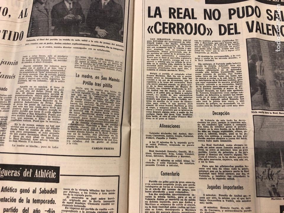 Coleccionismo deportivo: ESTADIO N° 75 (1/2/1971). ATHLETIC CLUB 2-0 CELTA VIGO. PARTIDOS LIGA 1ª, 2ª, 3ª, LEZAMA, GUISASOLA - Foto 4 - 175505495