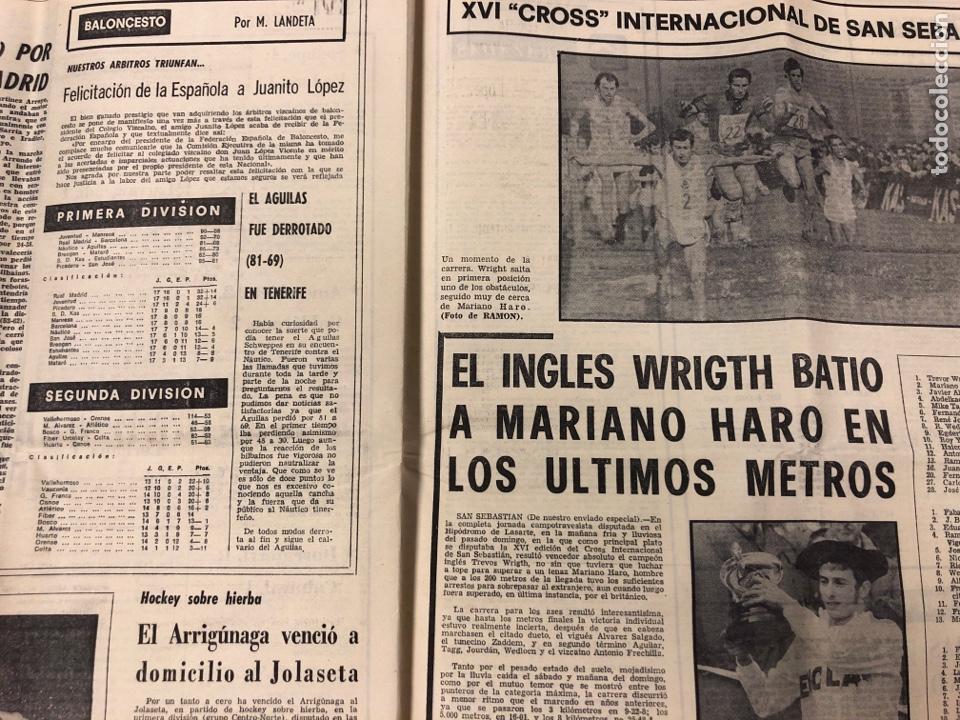 Coleccionismo deportivo: ESTADIO N° 75 (1/2/1971). ATHLETIC CLUB 2-0 CELTA VIGO. PARTIDOS LIGA 1ª, 2ª, 3ª, LEZAMA, GUISASOLA - Foto 7 - 175505495