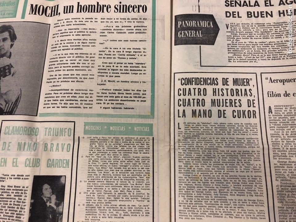 Coleccionismo deportivo: ESTADIO N° 75 (1/2/1971). ATHLETIC CLUB 2-0 CELTA VIGO. PARTIDOS LIGA 1ª, 2ª, 3ª, LEZAMA, GUISASOLA - Foto 8 - 175505495