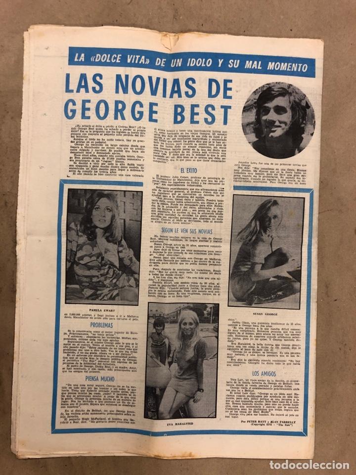 Coleccionismo deportivo: ESTADIO N° 75 (1/2/1971). ATHLETIC CLUB 2-0 CELTA VIGO. PARTIDOS LIGA 1ª, 2ª, 3ª, LEZAMA, GUISASOLA - Foto 9 - 175505495
