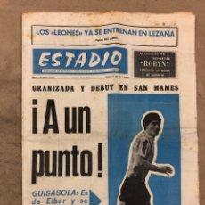 Coleccionismo deportivo: ESTADIO N° 75 (1/2/1971). ATHLETIC CLUB 2-0 CELTA VIGO. PARTIDOS LIGA 1ª, 2ª, 3ª, LEZAMA, GUISASOLA. Lote 175505495