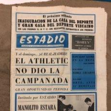 Coleccionismo deportivo: ESTADIO N° 79 (1/3/1971). ESPAÑOL 1-0 ATHLETIC CLUB, FIDEL URIARTE, PARTIDOS DE 1º, 2ª, 3ª Y REGIONA. Lote 175512925