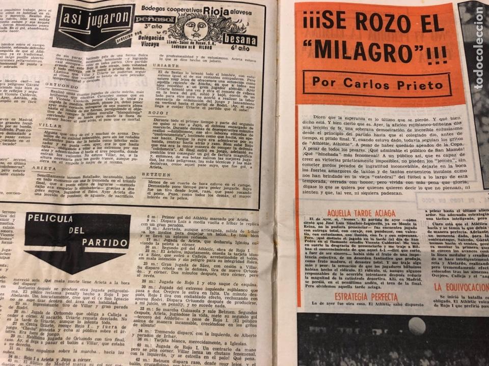 Coleccionismo deportivo: ESTADIO N° 149 (2/7/1972). ATHLETIC CLUB 3-1 ATLÉTICO DE MADRID COPA DEL GENERALÍSIMO, ÁNGEL NIETO,. - Foto 2 - 175519790