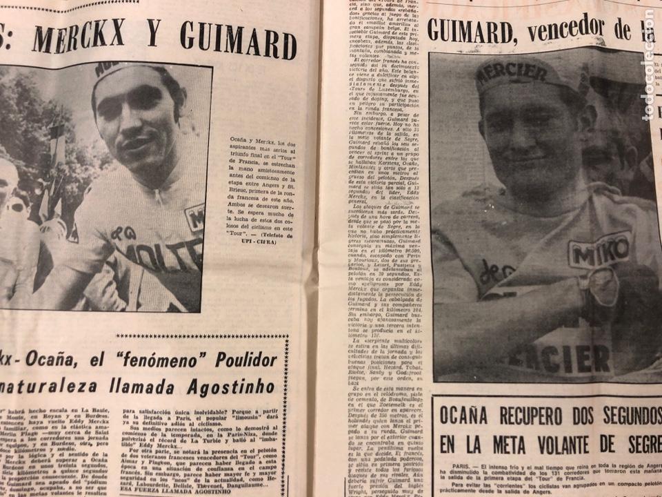 Coleccionismo deportivo: ESTADIO N° 149 (2/7/1972). ATHLETIC CLUB 3-1 ATLÉTICO DE MADRID COPA DEL GENERALÍSIMO, ÁNGEL NIETO,. - Foto 4 - 175519790