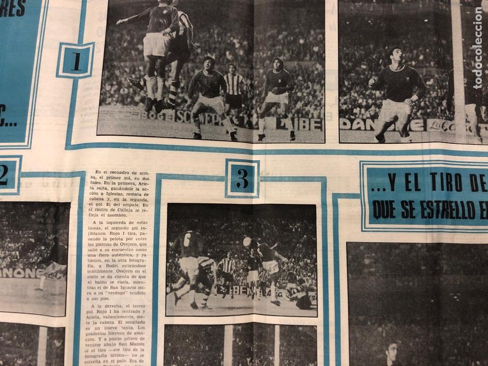 Coleccionismo deportivo: ESTADIO N° 149 (2/7/1972). ATHLETIC CLUB 3-1 ATLÉTICO DE MADRID COPA DEL GENERALÍSIMO, ÁNGEL NIETO,. - Foto 5 - 175519790