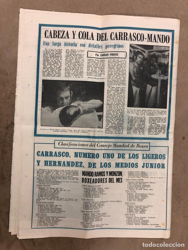 Coleccionismo deportivo: ESTADIO N° 149 (2/7/1972). ATHLETIC CLUB 3-1 ATLÉTICO DE MADRID COPA DEL GENERALÍSIMO, ÁNGEL NIETO,. - Foto 7 - 175519790