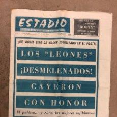 Coleccionismo deportivo: ESTADIO N° 149 (2/7/1972). ATHLETIC CLUB 3-1 ATLÉTICO DE MADRID COPA DEL GENERALÍSIMO, ÁNGEL NIETO,.. Lote 175519790