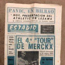 Coleccionismo deportivo: ESTADIO N° 152 (24/7/1972). EDDIE MERCKX CAMPEÓN 4º TOUR, ÁNGEL NIETO, PRESENTACIÓN ATHLETIC CLUB,.,. Lote 175521438