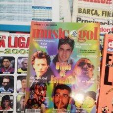 Coleccionismo deportivo: REVISTA MUSIC & GOL. NÚMERO 1. RELIQUIA.. Lote 175677672