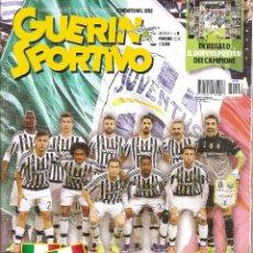 Coleccionismo deportivo: GUERIN SPORTIVO ITALIA ESPECIAL JUVENTUS CAMPEON 2015/16 15/16. Lote 175715653