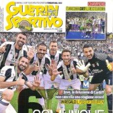 Coleccionismo deportivo: GUERIN SPORTIVO ITALIA ESPECIAL JUVENTUS CAMPEON 2016/17 16/17. Lote 175715703
