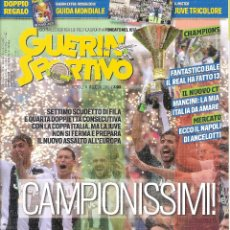 Coleccionismo deportivo: GUERIN SPORTIVO ITALIA ESPECIAL JUVENTUS CAMPEON 2017/18 17/18. Lote 175715867