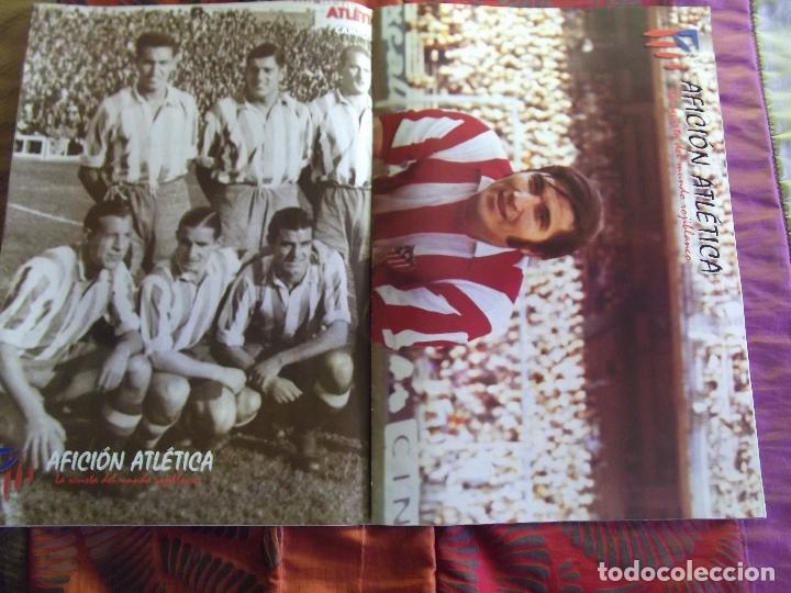 Coleccionismo deportivo: AFICION ATLETICA-V60-Nº8-2002-36 PAGINAS-POSTERS-AGUILERA-OVEJERO-SERGI - Foto 2 - 175795378