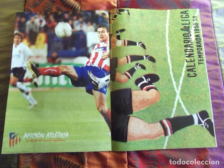 Coleccionismo deportivo: AFICION ATLETICA-V60-Nº8-2002-36 PAGINAS-POSTERS-AGUILERA-OVEJERO-SERGI - Foto 3 - 175795378