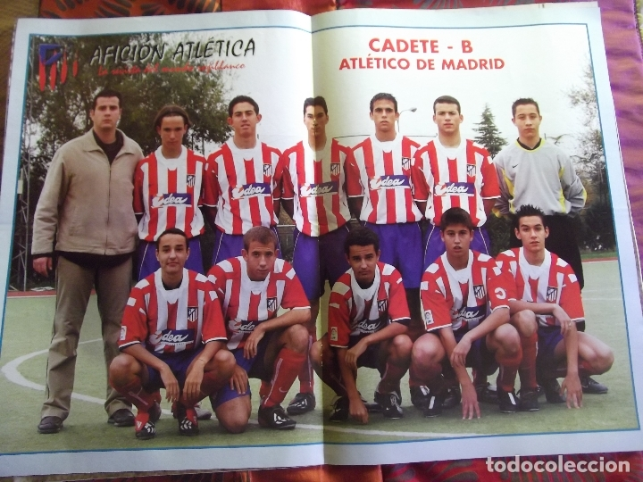 Coleccionismo deportivo: AFICION ATLETICA-V60-Nº8-2002-36 PAGINAS-POSTERS-AGUILERA-OVEJERO-SERGI - Foto 5 - 175795378