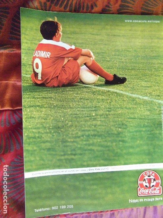 Coleccionismo deportivo: AFICION ATLETICA-V60-Nº8-2002-36 PAGINAS-POSTERS-AGUILERA-OVEJERO-SERGI - Foto 11 - 175795378