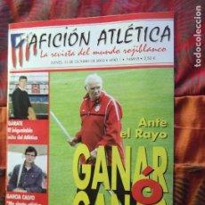Coleccionismo deportivo: AFICION ATLETICA-V60-Nº8-2002-36 PAGINAS-POSTERS-AGUILERA-OVEJERO-SERGI. Lote 175795378