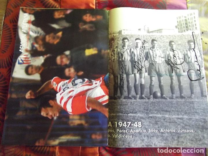 Coleccionismo deportivo: AFICION ATLETICA-V60-Nº15-2002-36 PAG.-POSTERS-VIERI-JAVI MORENO-SABAS-ESCUDERO-GARATE-AT.47-48 - Foto 3 - 175796523