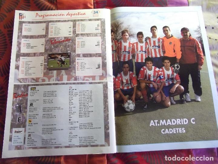 Coleccionismo deportivo: AFICION ATLETICA-V60-Nº15-2002-36 PAG.-POSTERS-VIERI-JAVI MORENO-SABAS-ESCUDERO-GARATE-AT.47-48 - Foto 7 - 175796523