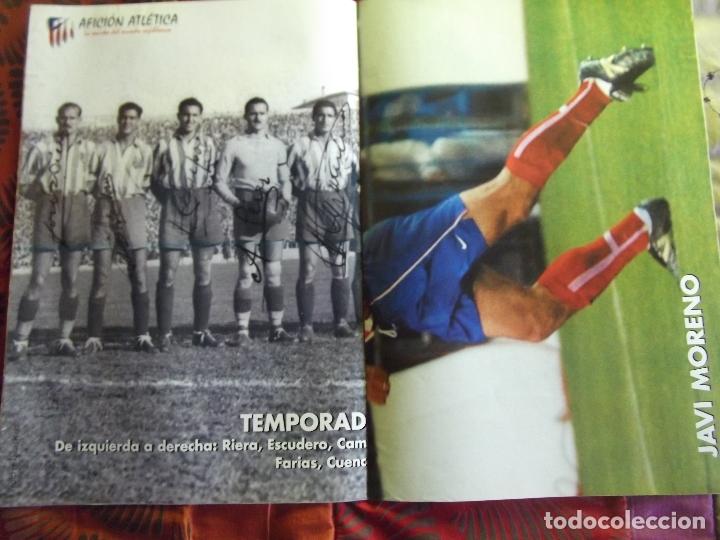 Coleccionismo deportivo: AFICION ATLETICA-V60-Nº15-2002-36 PAG.-POSTERS-VIERI-JAVI MORENO-SABAS-ESCUDERO-GARATE-AT.47-48 - Foto 8 - 175796523