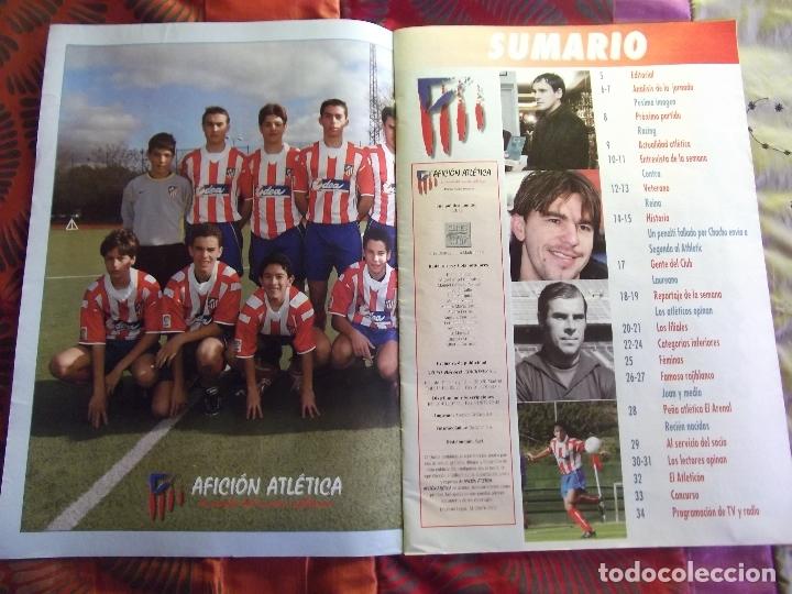 Coleccionismo deportivo: AFICION ATLETICA-V60-Nº15-2002-36 PAG.-POSTERS-VIERI-JAVI MORENO-SABAS-ESCUDERO-GARATE-AT.47-48 - Foto 9 - 175796523