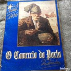 Coleccionismo deportivo: EL COMERCIO DE OPORTO ILUSTRADO, NAVIDAD 1936. MUY ESCASO.. Lote 177143708
