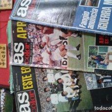 Coleccionismo deportivo: COLECCION AS COLOR ANTIGUA ; COMPLETA CON 557 NUMEROS 1971-1981 - CON POSTERS. Lote 177485539