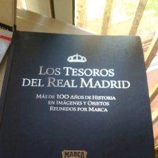 Coleccionismo deportivo: COLECCION LAMINAS PRECINTADAS -TESOROS FUTBOL. REAL MADRID CENTENARIO .. Lote 177488438