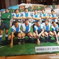 Coleccionismo deportivo: COLECCIÓN POSTERS AS COLOR AÑOS 70. LOTE VARIADO.. Lote 177690753