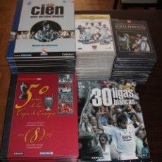 Coleccionismo deportivo: COLECCIÓN DE OBJETOS VARIADOS DEL REAL MADRID (TODO DETALLADO. LEER). Lote 177895475
