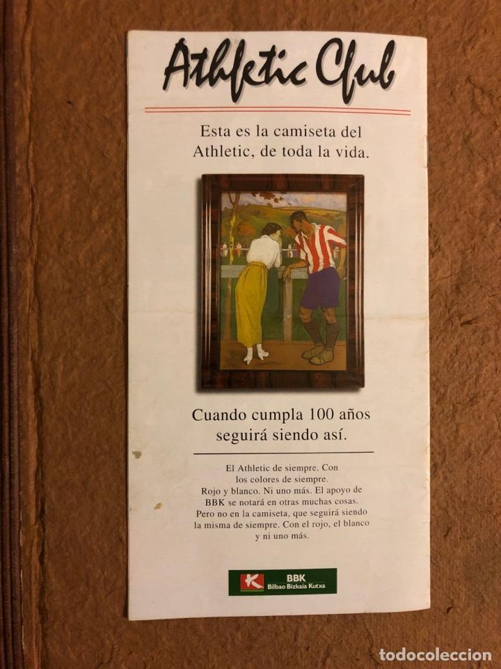 Coleccionismo deportivo: ATHLETIC CLUB BILBAO 1-1 REAL CELTA VIGO. PROGRAMA OFICIAL PARTIDO JORNADA 16, TEMPORADA 97/98. - Foto 3 - 178160634
