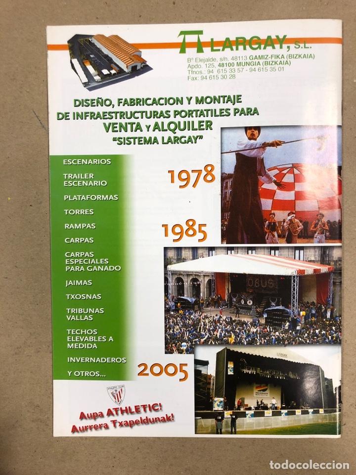 Coleccionismo deportivo: HERMANAMIENTO DE PEÑAS DEL ATHLETIC CLUB EN GAMIZ-FIKA: LOTE DE 5 REVISTAS DE DIFERENTES AÑOS. - Foto 4 - 178346856