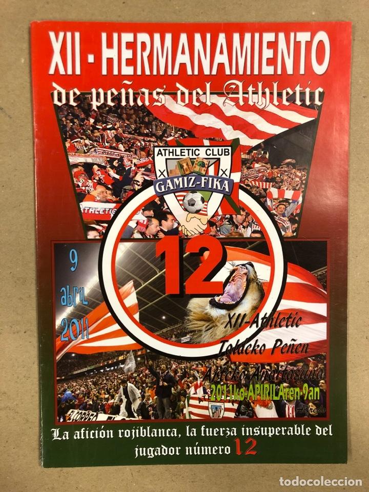 Coleccionismo deportivo: HERMANAMIENTO DE PEÑAS DEL ATHLETIC CLUB EN GAMIZ-FIKA: LOTE DE 5 REVISTAS DE DIFERENTES AÑOS. - Foto 11 - 178346856