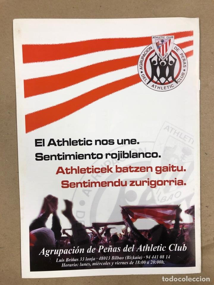 Coleccionismo deportivo: HERMANAMIENTO DE PEÑAS DEL ATHLETIC CLUB EN GAMIZ-FIKA: LOTE DE 5 REVISTAS DE DIFERENTES AÑOS. - Foto 16 - 178346856