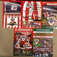 Coleccionismo deportivo: HERMANAMIENTO DE PEÑAS DEL ATHLETIC CLUB EN GAMIZ-FIKA: LOTE DE 5 REVISTAS DE DIFERENTES AÑOS.. Lote 178346856