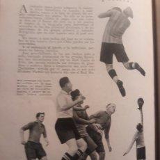 Coleccionismo deportivo: LIGA TEMPORADA 1930-31 - REAL MADRID - REAL UNION DE IRUN - VICTORIA DEL REAL MADRID - HOJA. Lote 178613370