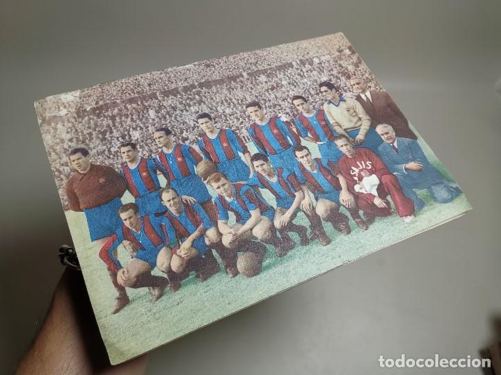 Coleccionismo deportivo: REVISTA - BOLETIN - C.F. BARCELONA 1952-53 - CON PASAPORTE A LA FAMA --FICHAS DE LOS JUGADORES - Foto 2 - 178650682