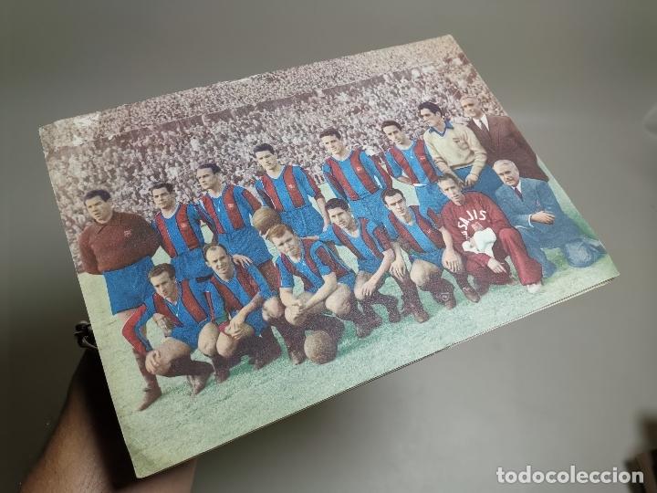 REVISTA - BOLETIN - C.F. BARCELONA 1952-53 - CON PASAPORTE A LA FAMA --FICHAS DE LOS JUGADORES (Coleccionismo Deportivo - Revistas y Periódicos - otros Fútbol)