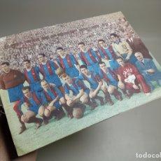 Coleccionismo deportivo: REVISTA - BOLETIN - C.F. BARCELONA 1952-53 - CON PASAPORTE A LA FAMA --FICHAS DE LOS JUGADORES. Lote 178650682