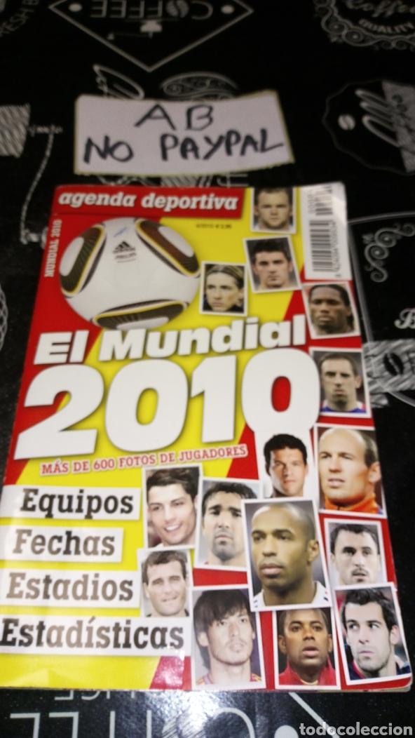 AGENDA DEPORTIVA EL MUNDIAL 2010 SUDÁFRICA (Coleccionismo Deportivo - Revistas y Periódicos - otros Fútbol)