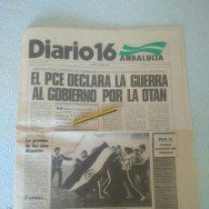 Coleccionismo deportivo: DIARIO 16 ANDALUCÍA 27 JUNIO 1983 AÑO VIII-N.2187.REAL BETIS CAMPEOM COPA DEL REY.VER FOTOS. Lote 179116477