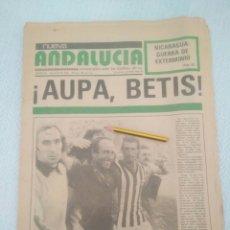 Coleccionismo deportivo: NUEVA ANDALUCIA.18 1979-DEDICADO AL BETIS VER FOTOS.. Lote 179116573