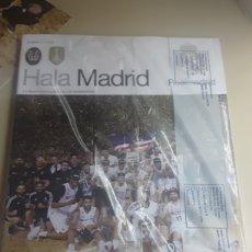Coleccionismo deportivo: REVISTA HALA MADRID N° 71 INCLUYE PÓSTER DEL EQUIPO DE BALONCESTO GANADOR LIGA 2018/2019. Lote 179134780