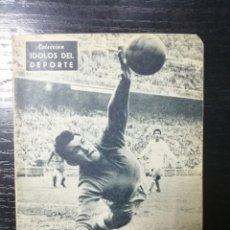 Coleccionismo deportivo: COLECCION IDOLOS DEL DEPORTE, ALONSO GUARDAMETA VITALICIO DEL MADRID. Nº30. Lote 179141681