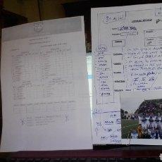 Coleccionismo deportivo: ANUARIO FÚTBOL EXTREMEÑO. DOSSIER RESUMEN 2011 - 2012. Lote 180149500
