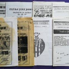 Coleccionismo deportivo: LOTE FANZINES VALENCIA ULTRA YOMUS. Lote 180271597