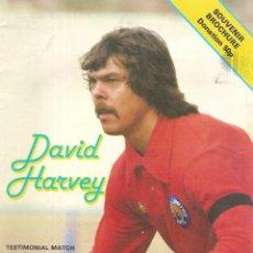 Coleccionismo deportivo: PROGRAMA HOMENAJE DAVID HARVEY LEEDS UNITED VANCOUVER 79/80 1979/80 . Lote 180393280