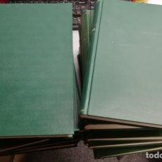 Coleccionismo deportivo: REVISTA REAL MADRID - PUBLICACIÓN MENSUAL / LOTE 15 TOMOS: DE DICIEMBRE DE 1972 A ENERO DE 1989. Lote 180394098