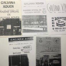 Coleccionismo deportivo: LOTE FANZINES GALIANA XOVEN REAL AVILES. Lote 180471405