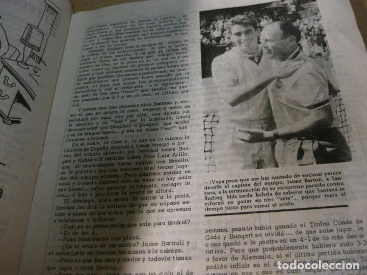 Coleccionismo deportivo: revista satirica de futbol y deportes el once nº 1026 año 1965 el sabadell vuelve a primera - Foto 3 - 180493075